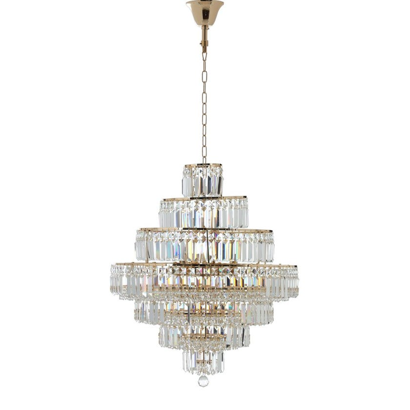 Burney Crystal Pendant Lamp - 60 x 74 cms