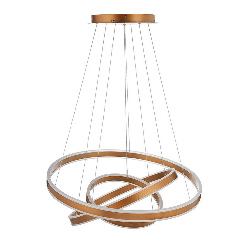 Venice Crystal Pendant Lamp - 70 x 62 cms