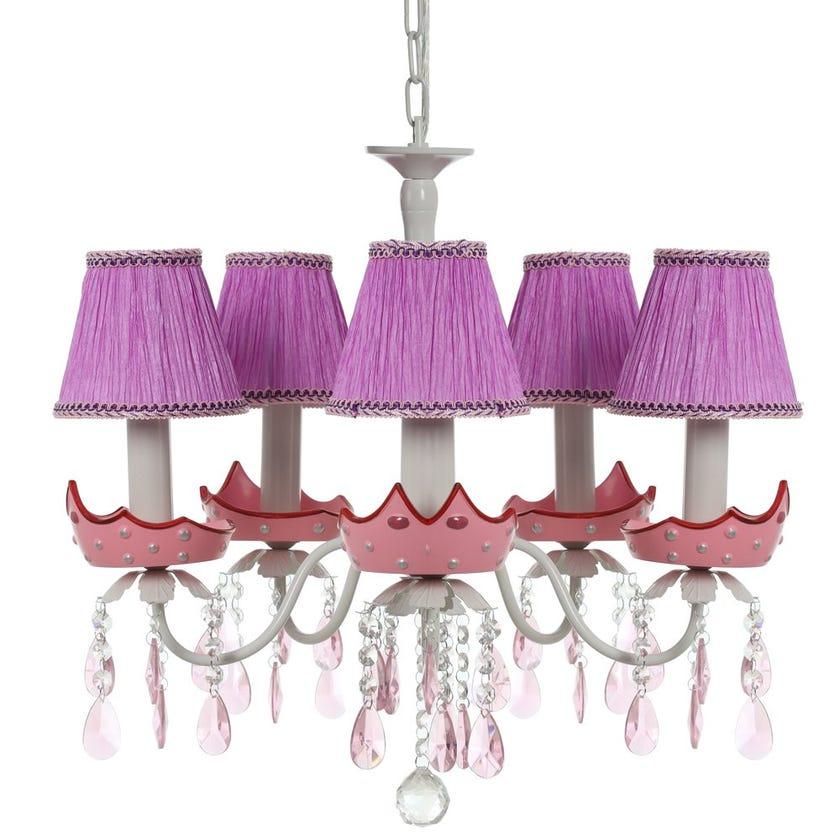 Princess Kids Ceiling Lamp, Multicolour – 56x52 cms