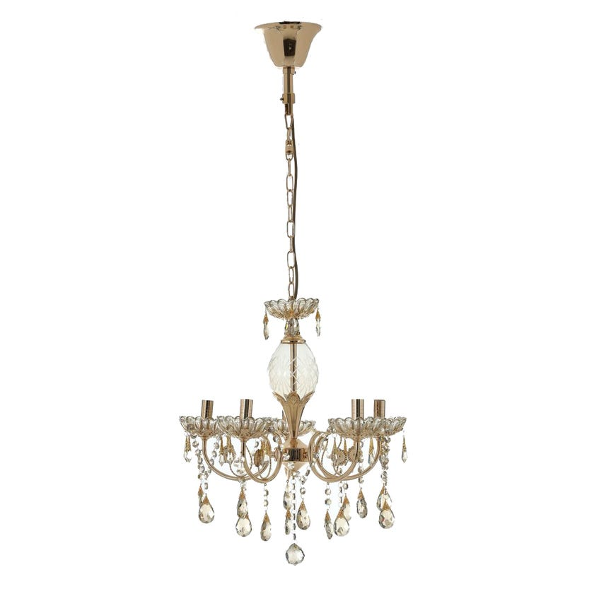 Pendant Lamp, French Gold – 52x57 cms