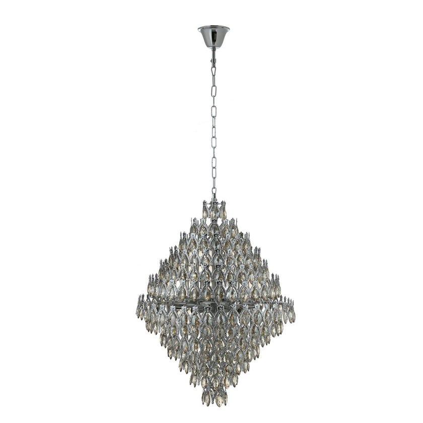 Caris Crystal Chandelier - 69 x 82 cms