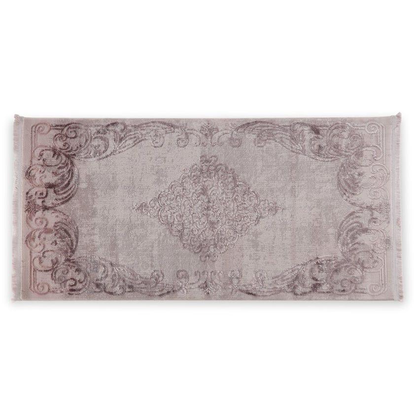 Taboo Rectangular Carpet, Mauve – 80x150 cms