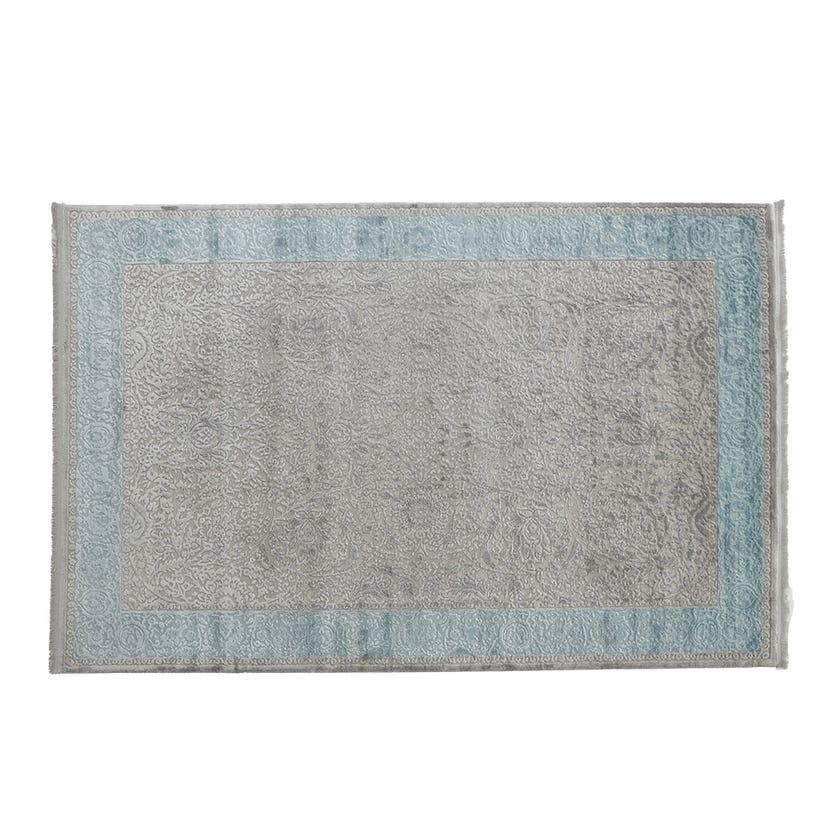 Taboo Textured Carpet, Grey & Blue – 160x230 cms