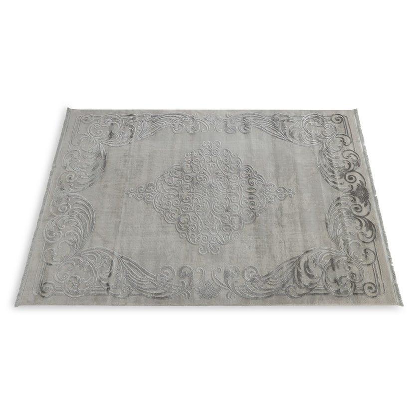 Taboo Pudra Carpet, Grey - 160x230 cms