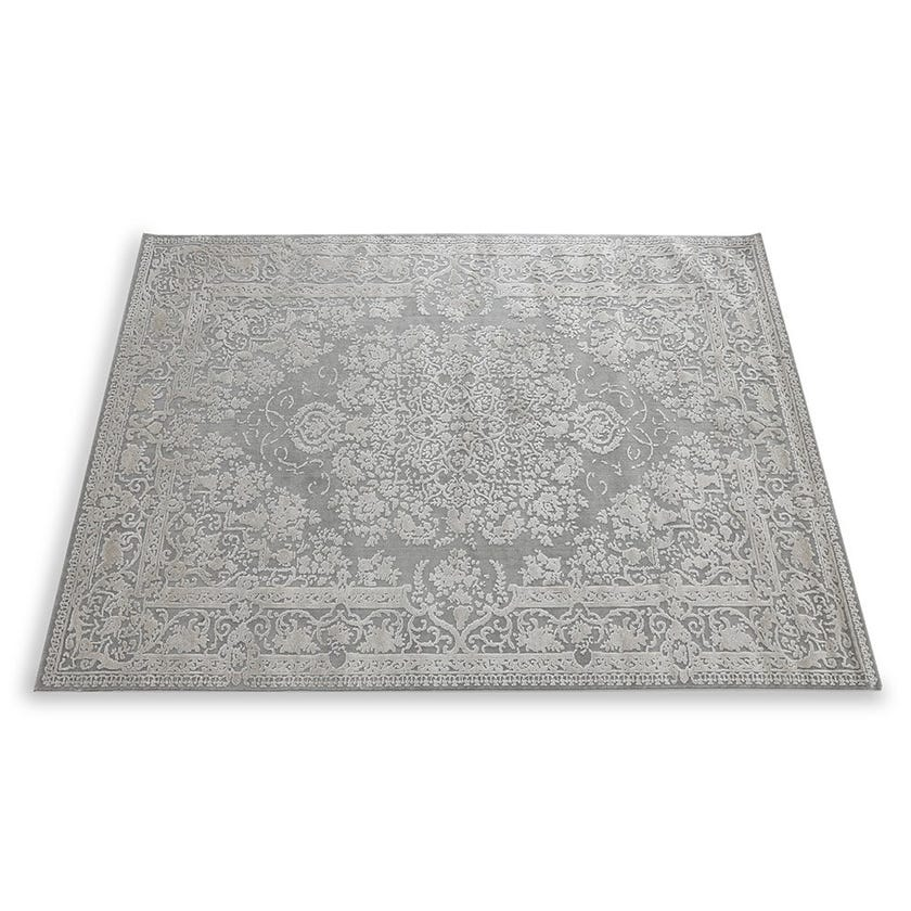 Timeless Textured Carpet, Grey & Beige – 160x230 cms
