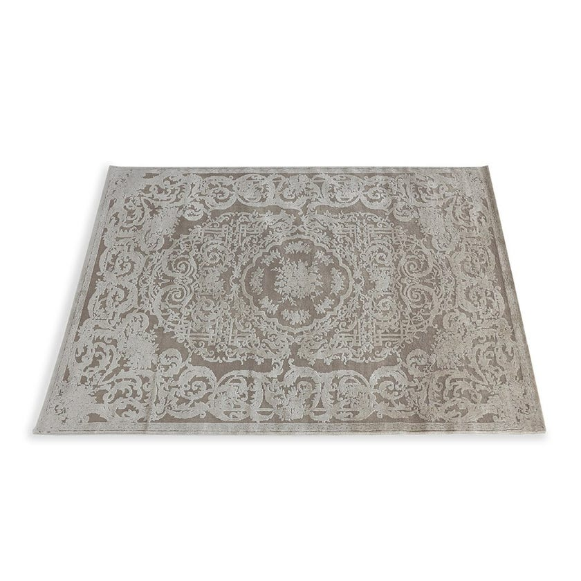 Timeless Textured Rug, Beige & Cream – 160x230 cms