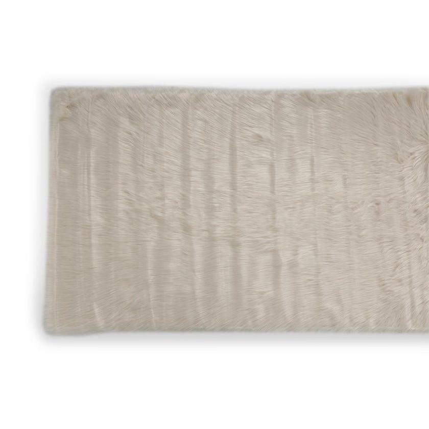 Kids Rug (Beige, Acrylic, 120 x 70 cms)
