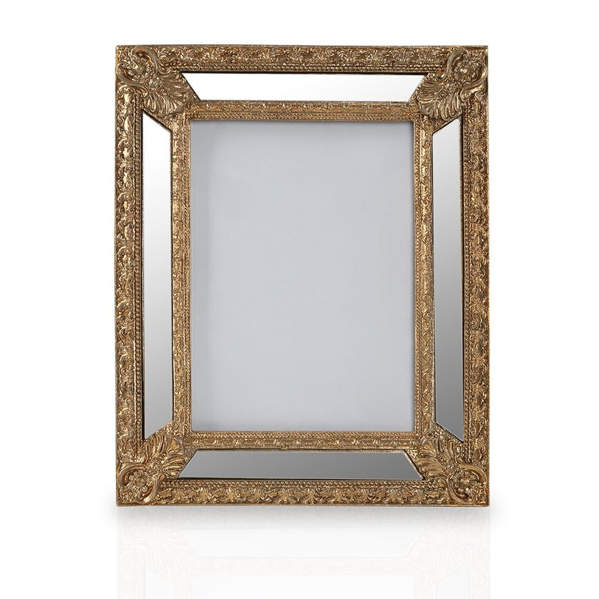 Frosted Almond Photo Frame, Gold - 5X7
