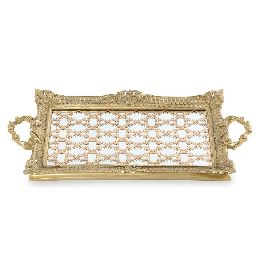 Mirror Tray, Pale Gold - Big