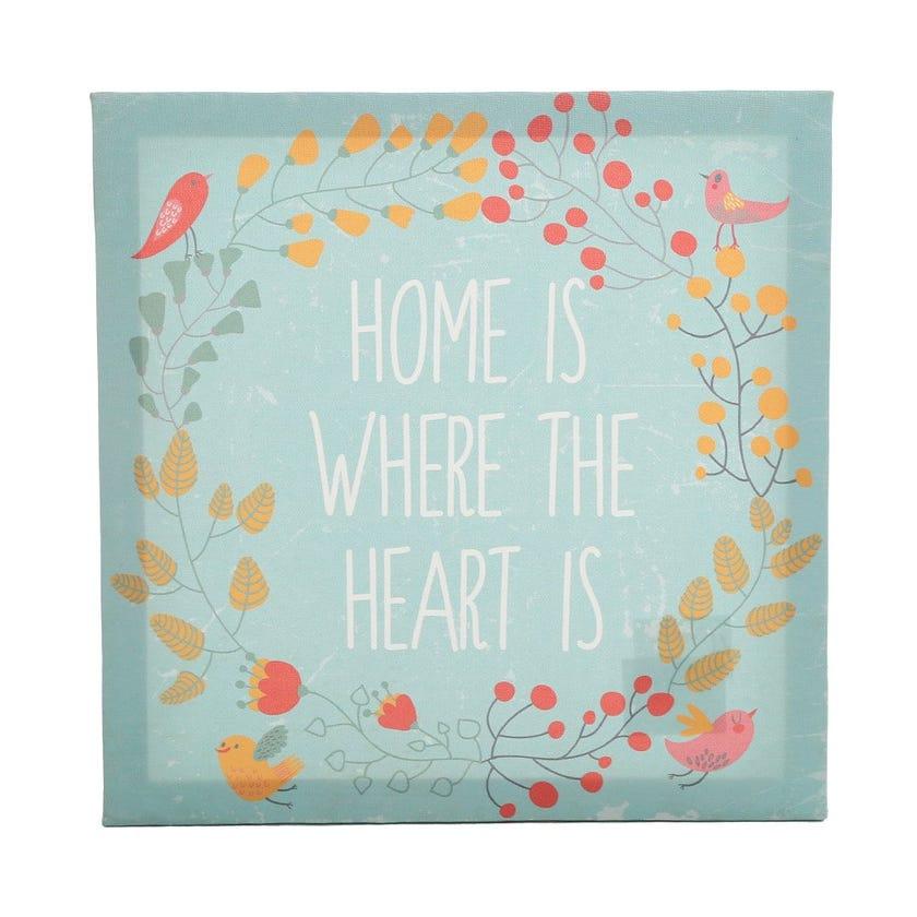 Home Canvas Art, Multicolour