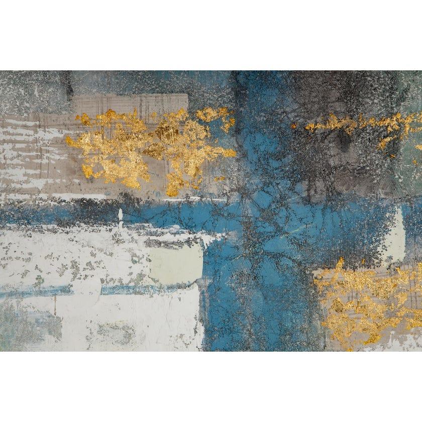 Lake Oil Painting (100 x 150 cms, Multicolour)