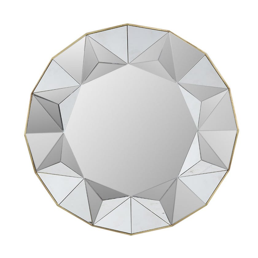 Canary Wall Mirror, Natural