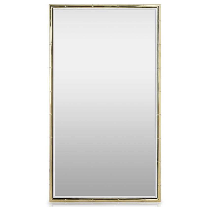 Topaz Wall Mirror, Clear & Gold – 160x90 cms