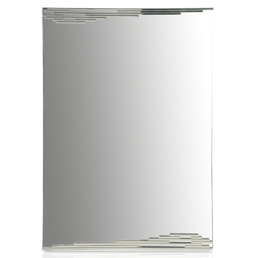 Margot Mirror, Clear & Silver – 115x80 cms