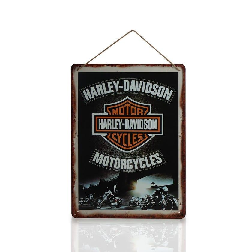 Tin Signage, Harley Davidson (Multicolour)
