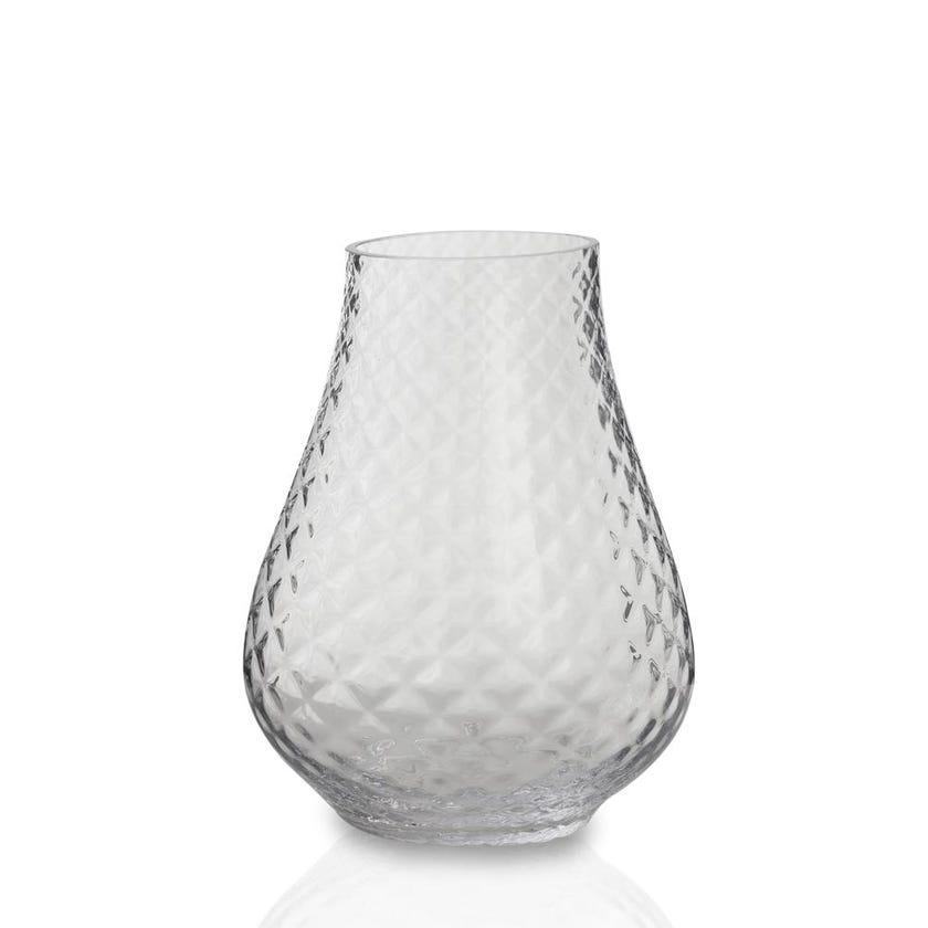 Egret Glass Vase, 20cm x 25cm