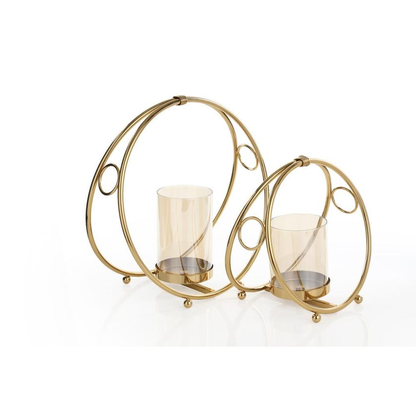 Laicel Round Pillar Candle Holder, Small