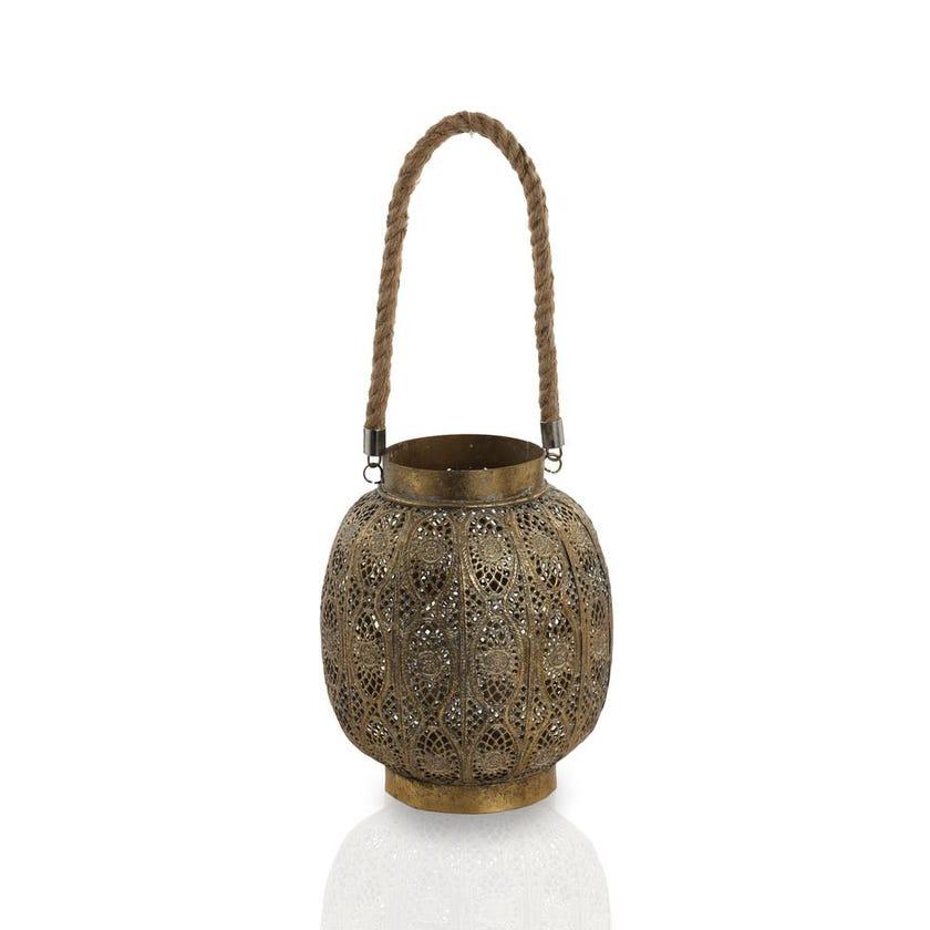 Anise Metal Lantern - Large