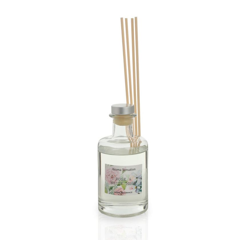 Rose and White Musk Reed Diffuser - 200 ml
