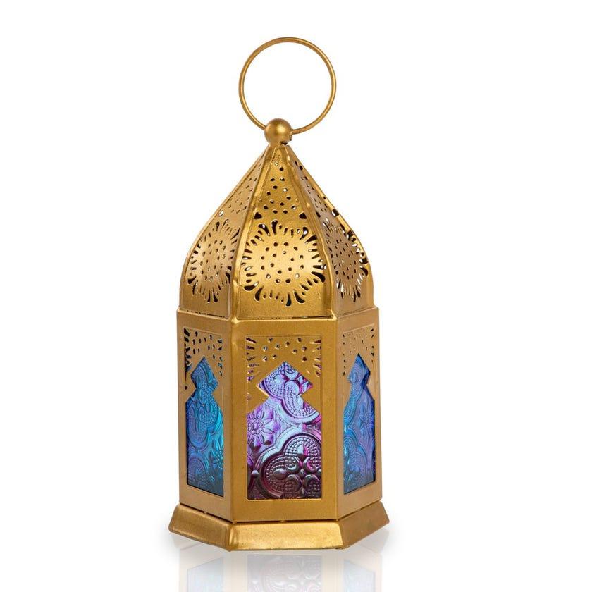 Khail Tealight Candle Lantern - 16x9 cms
