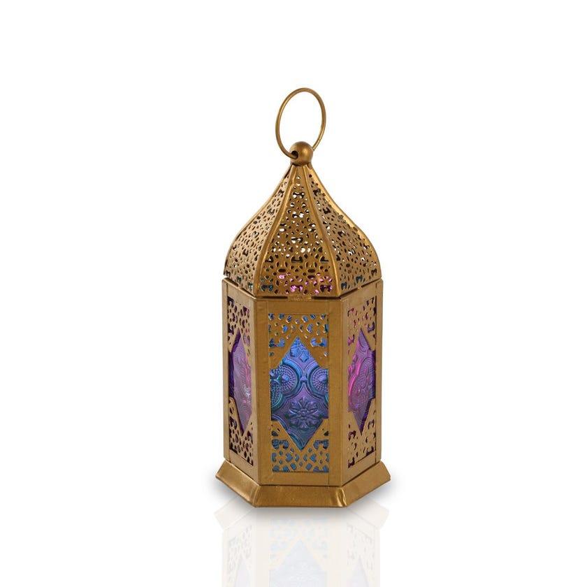 Mehar Tealight Candle Lantern – 18x9 cms