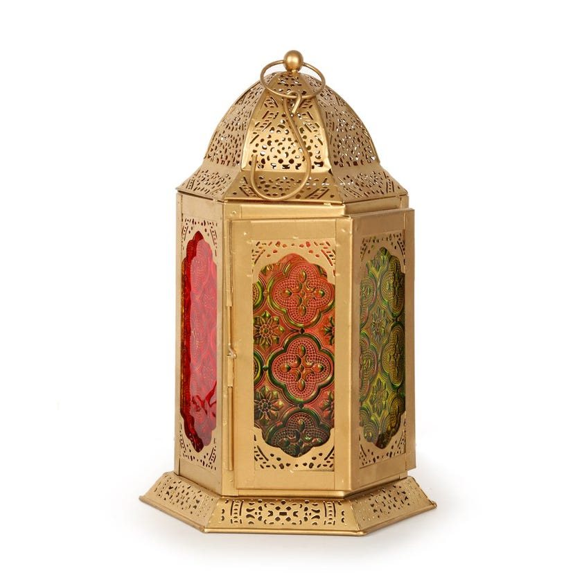 Akhdar Candle Lantern - 24x16 cms