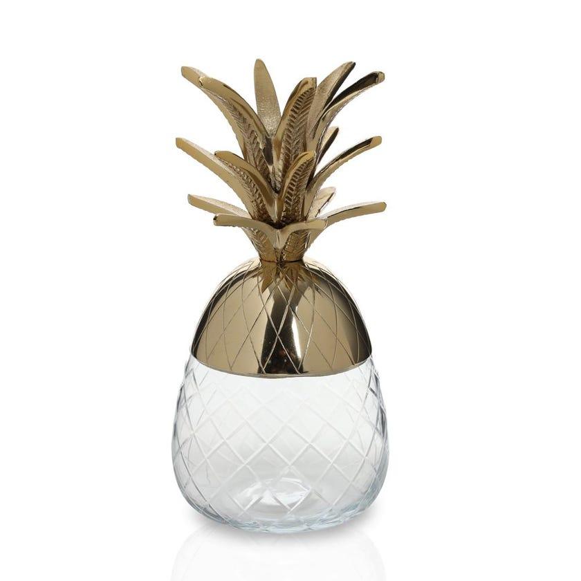 Pineapple Jar Small - Gold