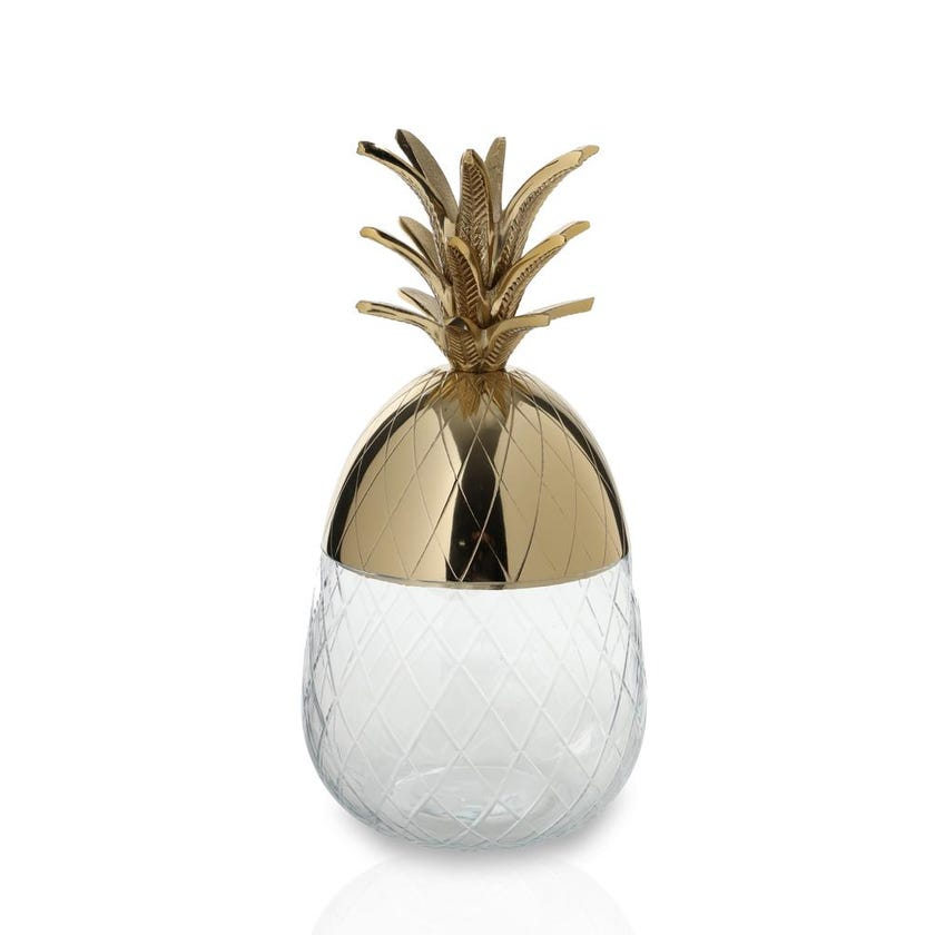 Pineapple Jar Medium - Gold