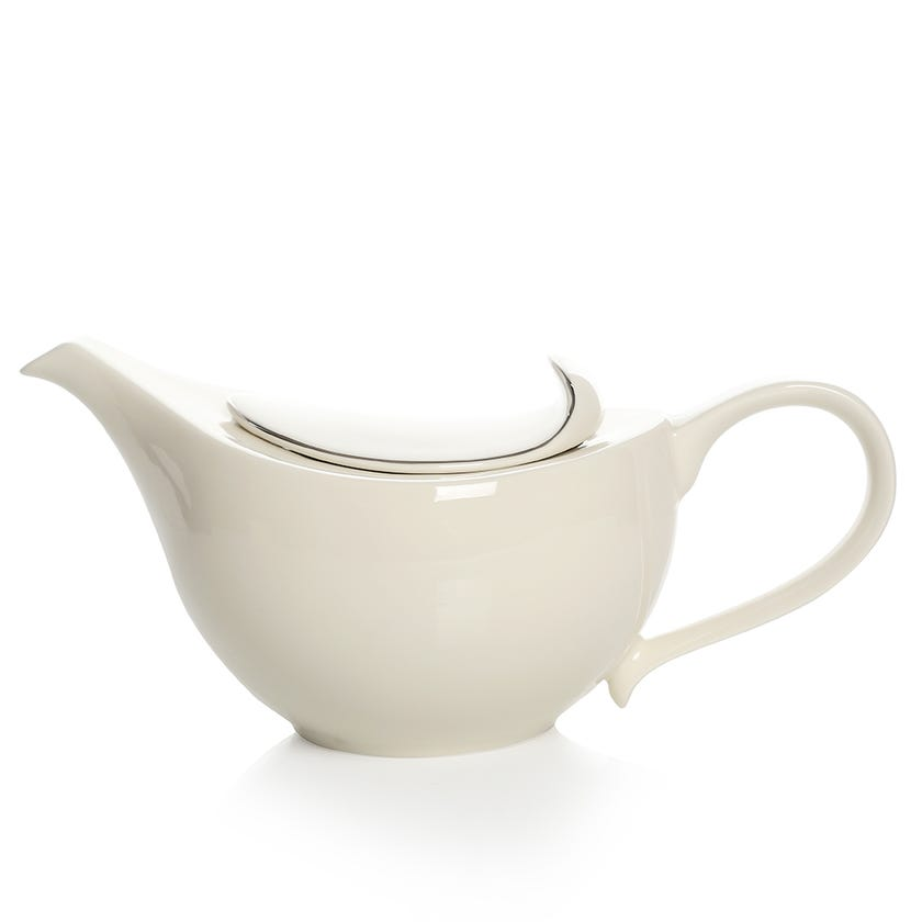 Sense Porcelain Teapot - Platinum Lining