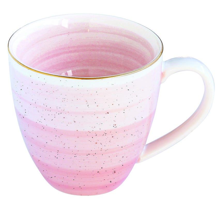 Artesanal Porcelain Mug - Pink