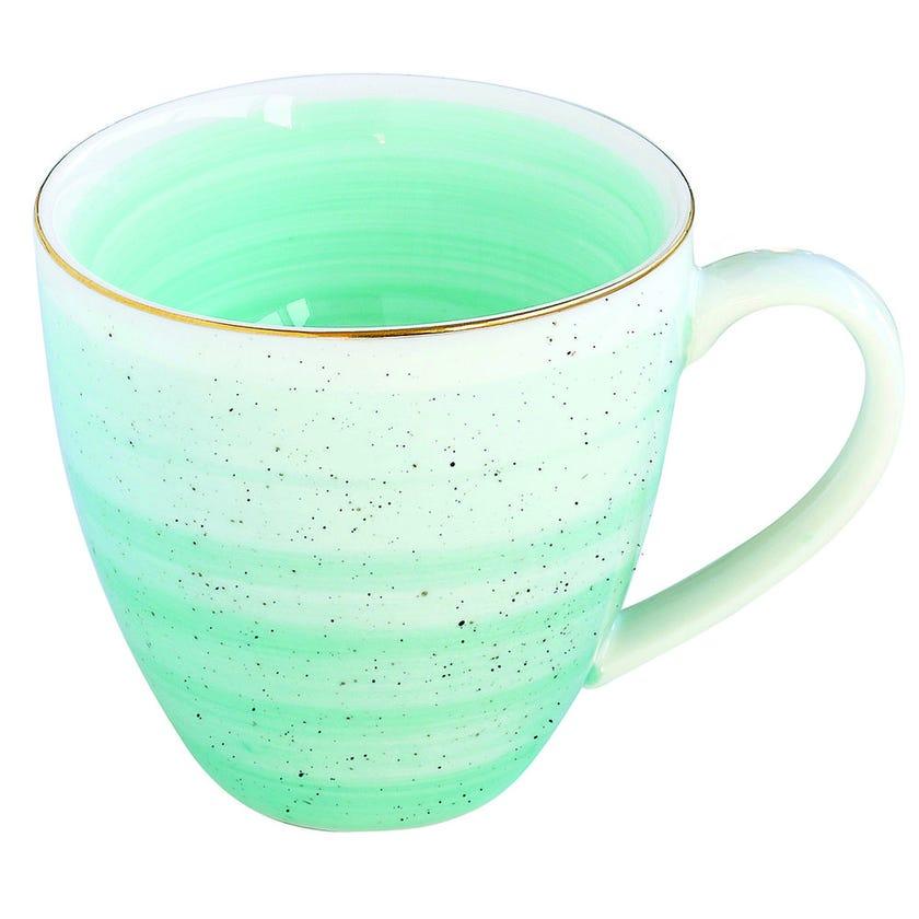 Artesanal Porcelain Mug - Green