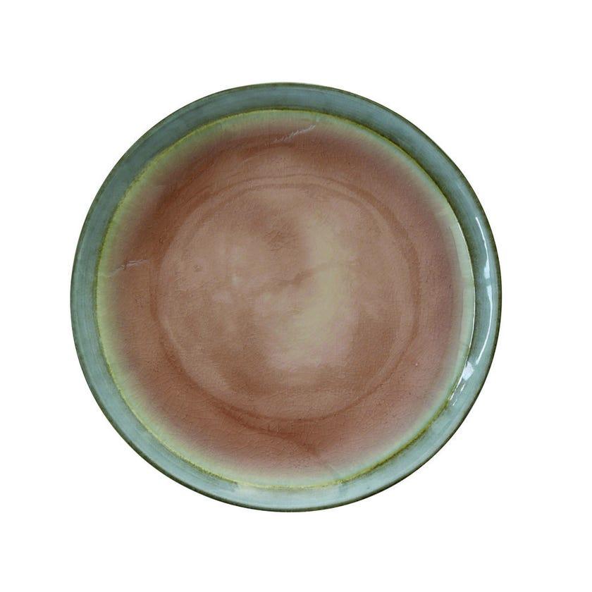 Stoneware Side Plate, Dusty Pink