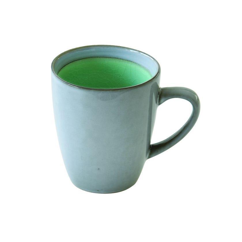 Stoneware Mug, Green