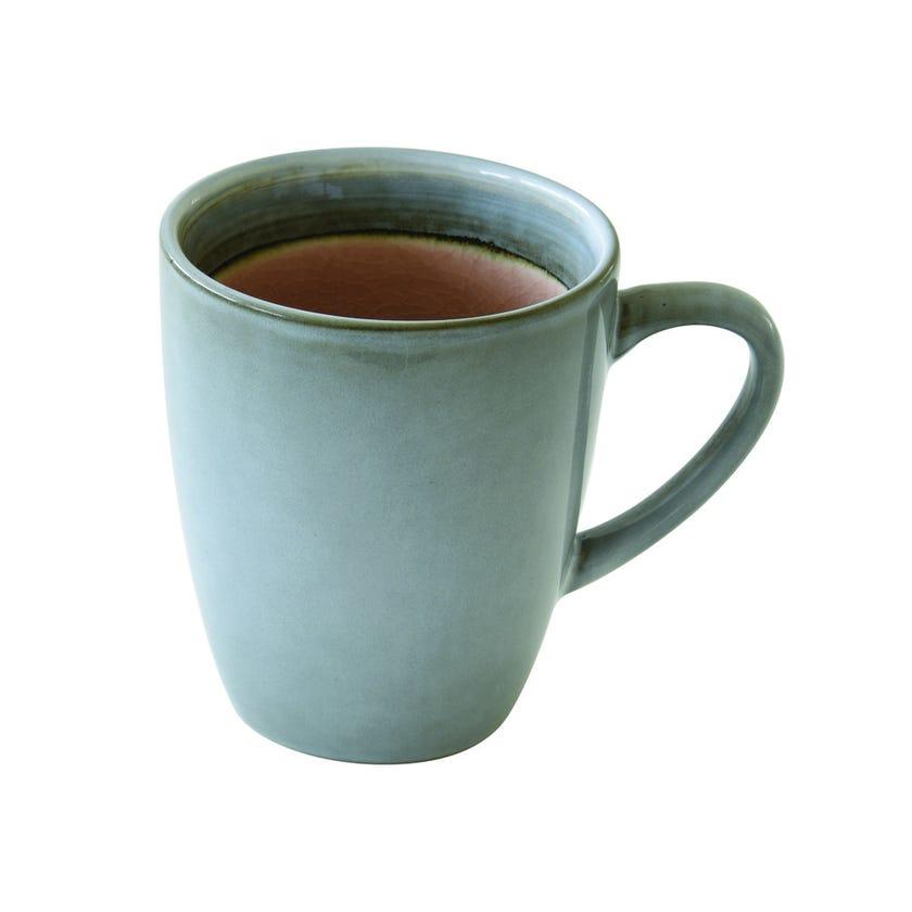 Stoneware Mug, Dusty Pink