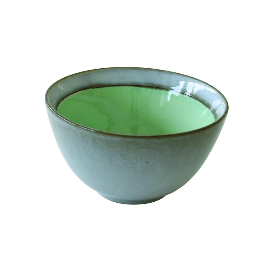 Stoneware Bowl, Green