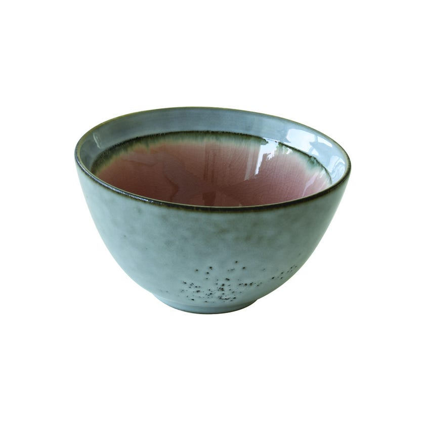 Stoneware Bowl, Dusty Pink