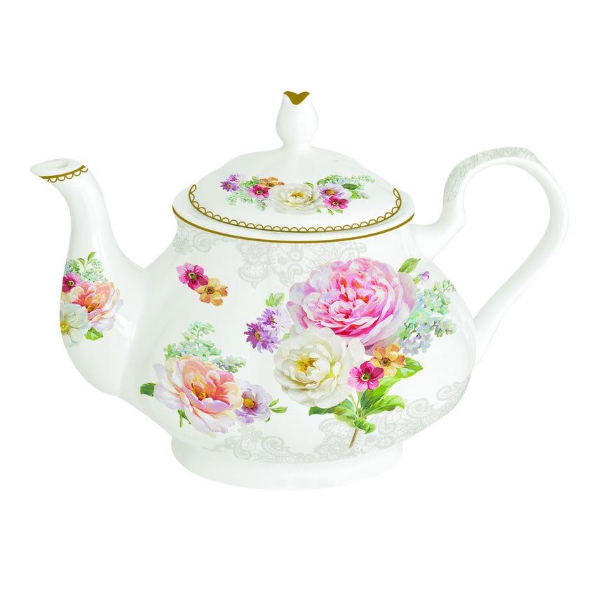 Romantic Lace Teapot