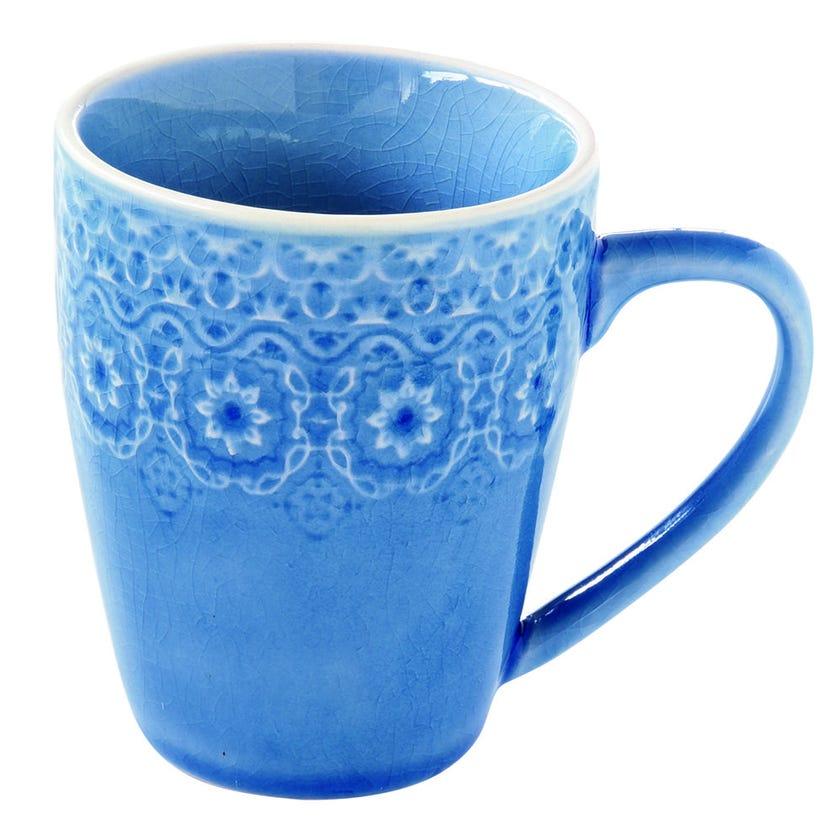 Ambiente Stoneware Mug - Blue, 360 ml