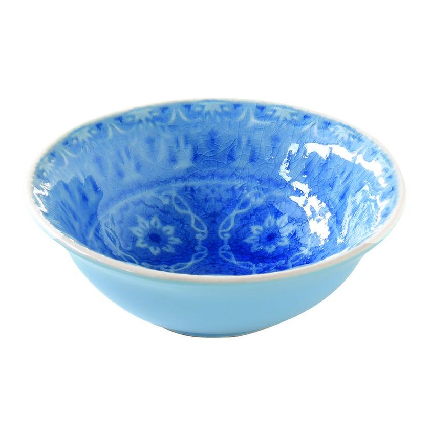 Ambiente Stoneware Bowl - Blue, 12 cms