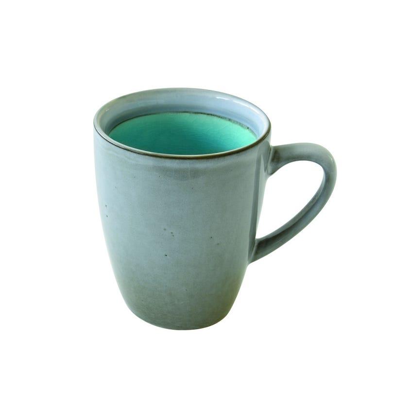 Stoneware Mug, Blue