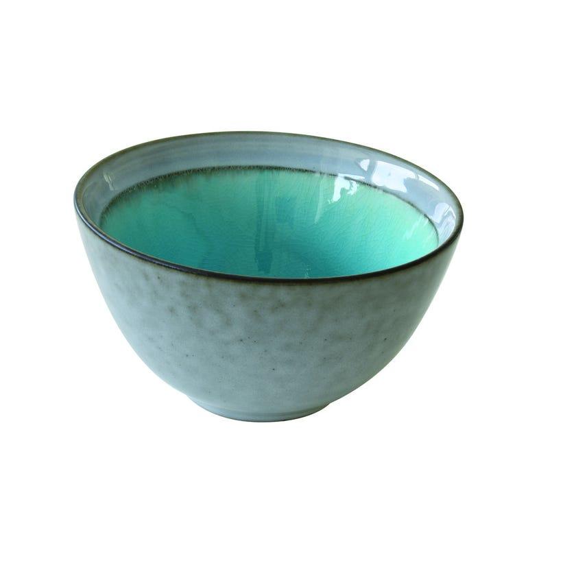 Stoneware Bowl, Blue