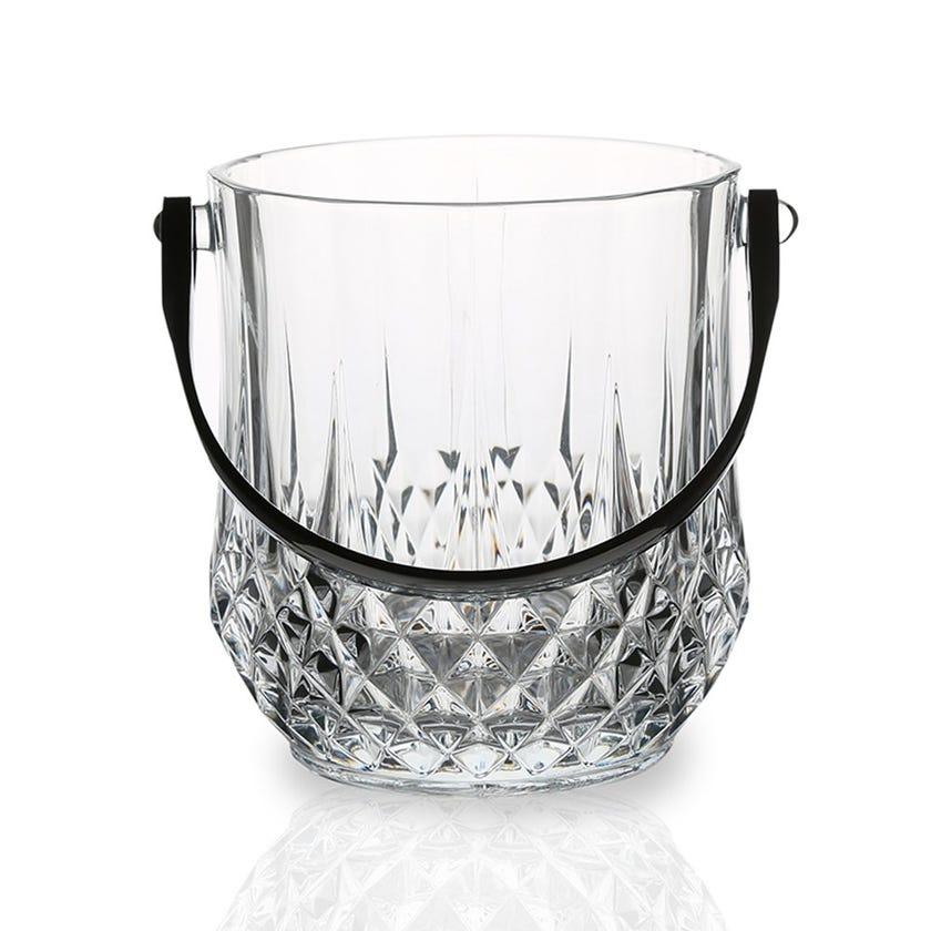 Eclat Longchamp Glass Ice Bucket - 14 x 17 cms