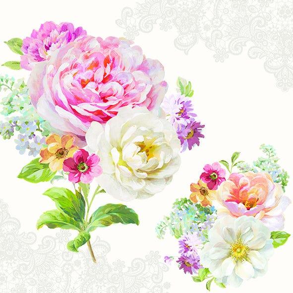 Romantic Lace Fashion Paper
