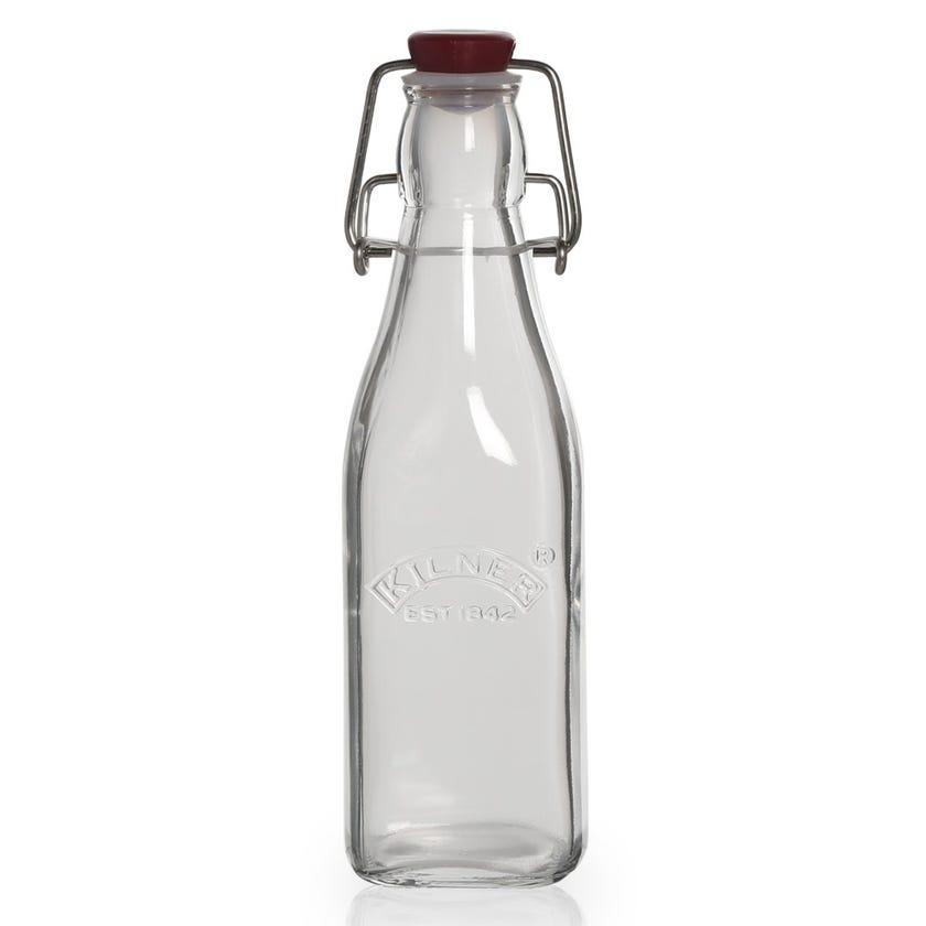 Kilner Clip Preserver Bottle, Clear - 0.25L