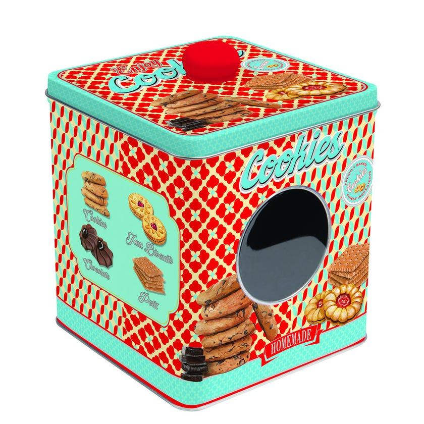 Cookie Tin Box, Red