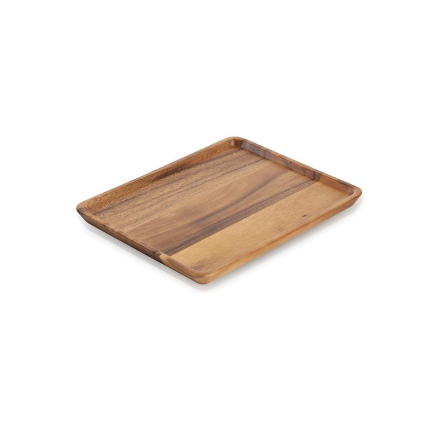 Wood Rectangular Tray