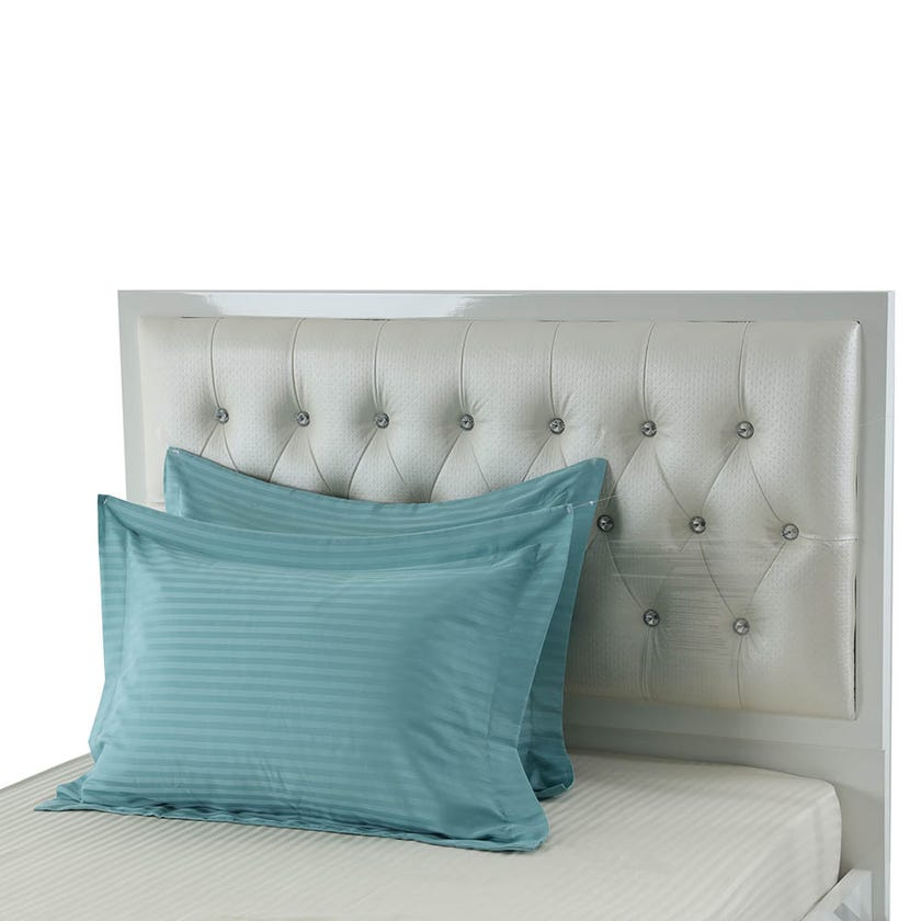2-Piece Pillowcase, Ocean Blue - 250TC, 50x70 cms