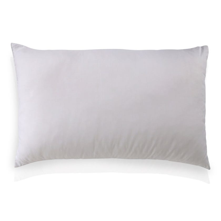 Homes R Us Hollow Fiber Pillow, White - 74x48 cms