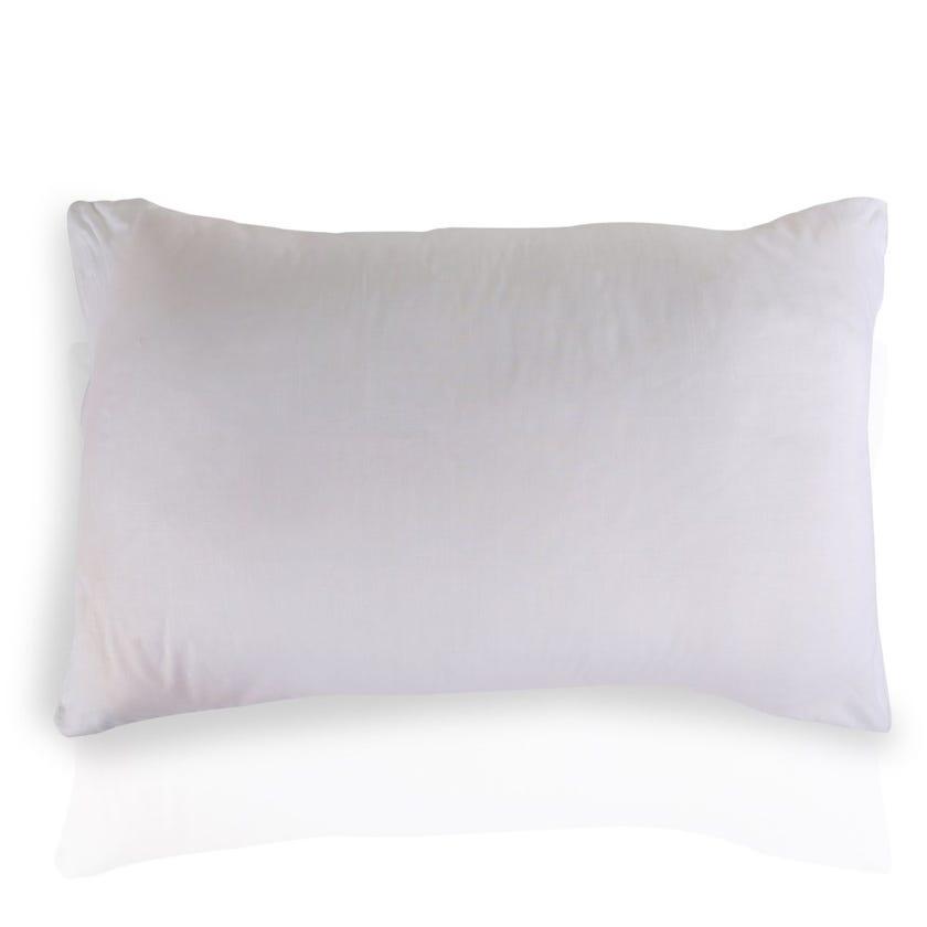 Homes R Us Ortho Pillow, White - 74x48 cms