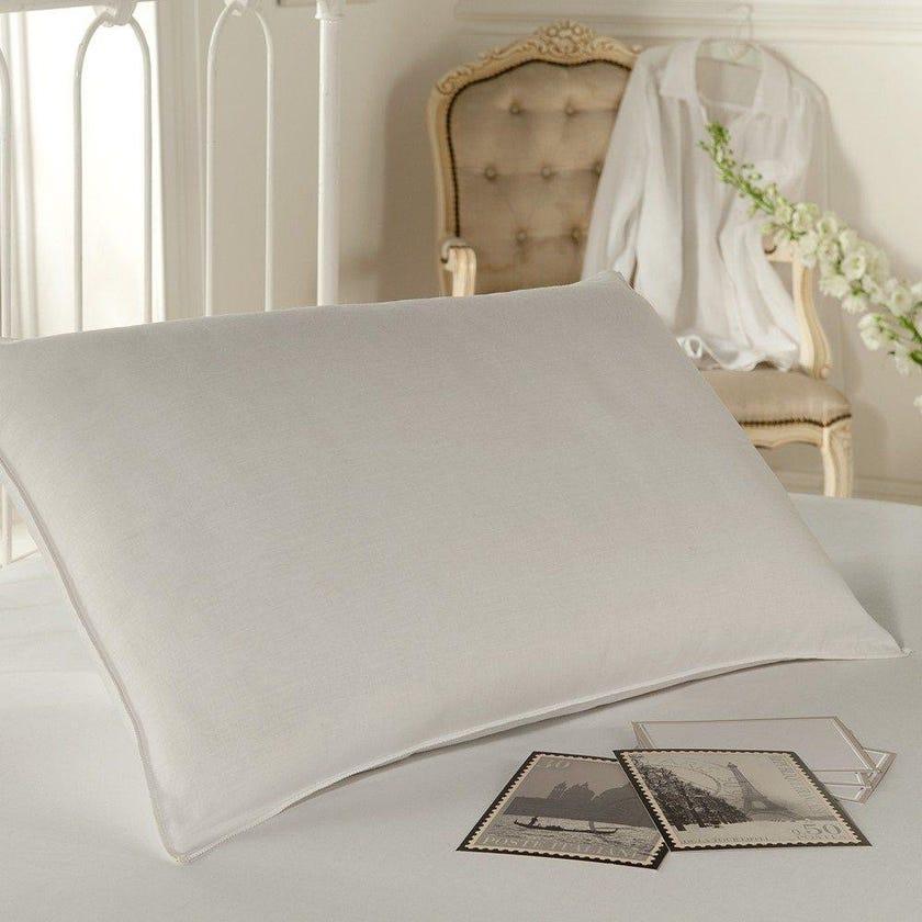 Silentnight Standard Memory Foam Pillow, White - 74x48 cms